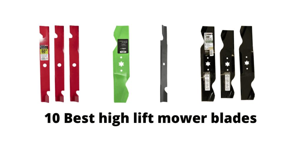 Best mower blades