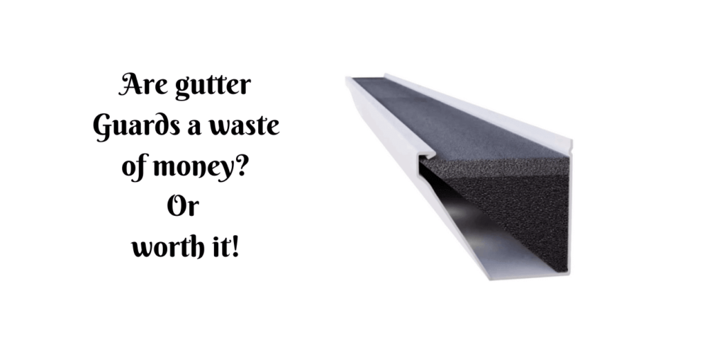Gutter guards waste of money