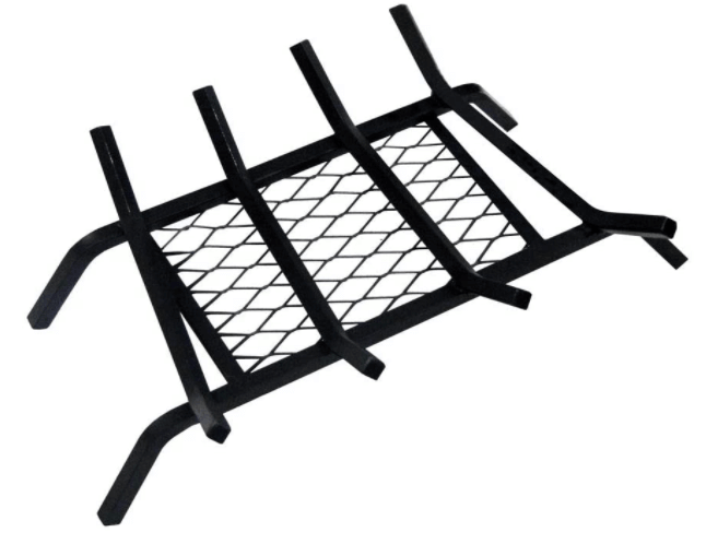 zero clearance fireplace grate