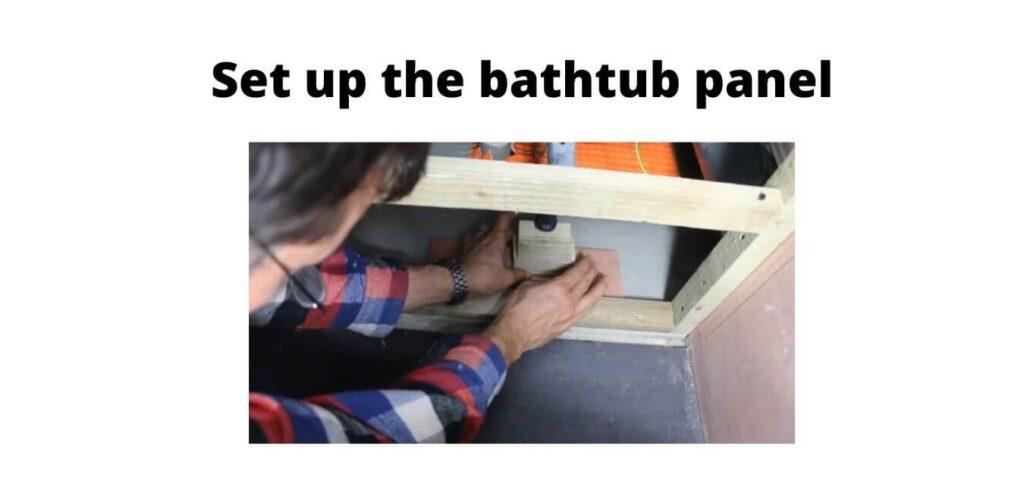 bathtub panel